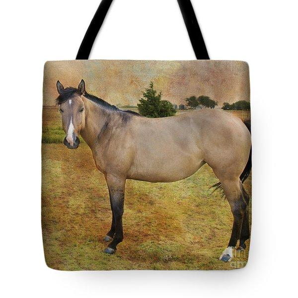 Beautiful Buckskin Tote Bag by Betty LaRue