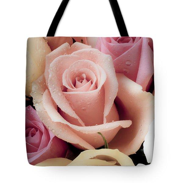 Beautiful Roses Tote Bag by Garry Gay