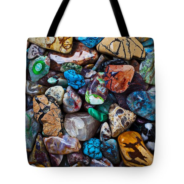 Beautiful Stones Tote Bag by Garry Gay