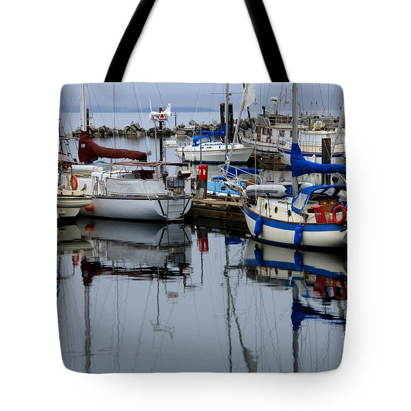 Beauty of Boats Tote Bag by Bob Christopher
