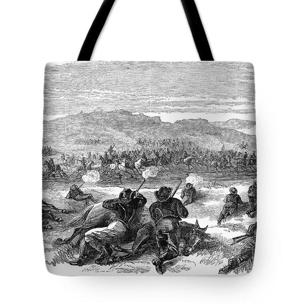 Beecher Island, 1868 Tote Bag by Granger
