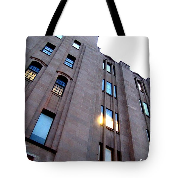 Bell Building Tote Bag by Danielle  Parent