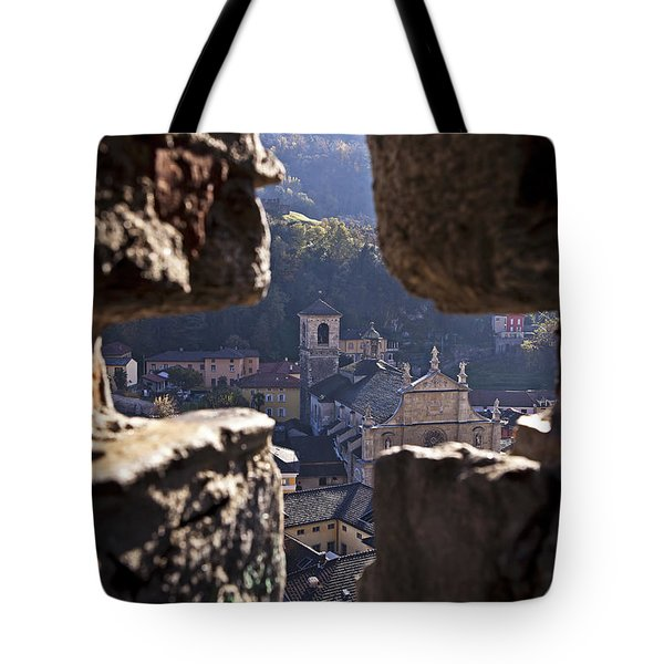 Bellinzona Tote Bag by Joana Kruse