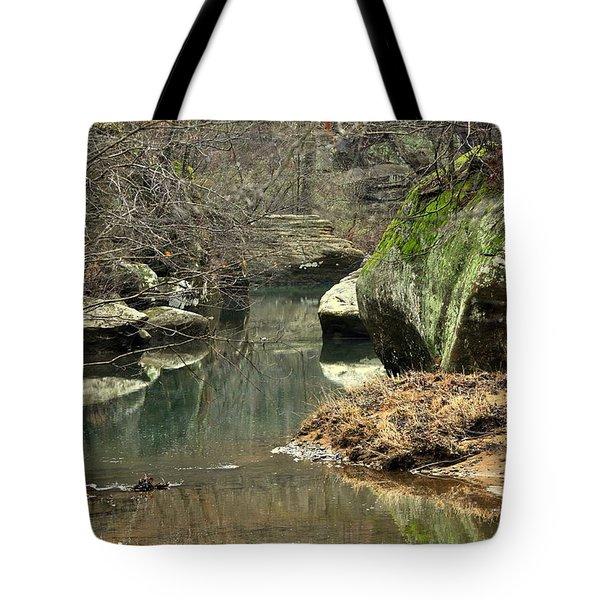 Bellsmith Creek Tote Bag by Marty Koch