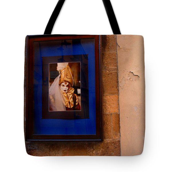 Beniiti In Lucca Tote Bag by Bob Christopher