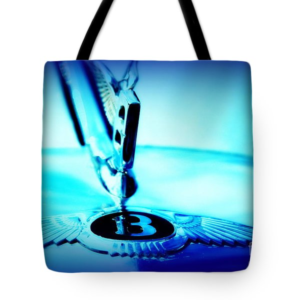 Bentley Hood Ornament Tote Bag by Susanne Van Hulst