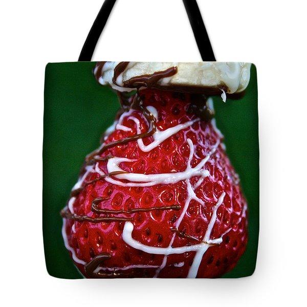 Berry Banana Kabob Tote Bag by Susan Herber
