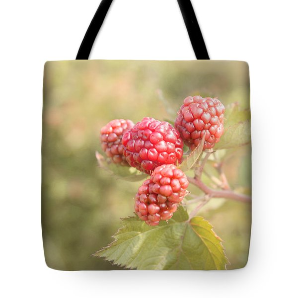 Berry Good Tote Bag by Kim Hojnacki