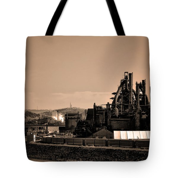 Bethlehem Steel Tote Bag by Bill Cannon