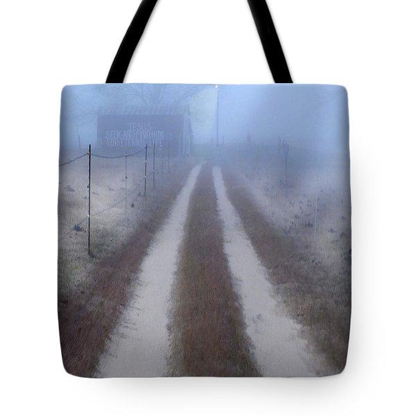 Better Find Jesus Tote Bag by Mike McGlothlen