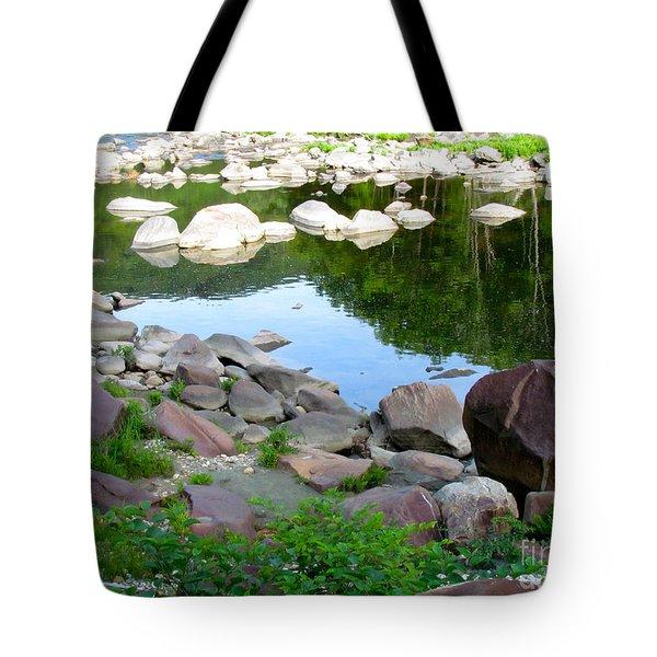 Beyond The Potholes Tote Bag by Randi Shenkman