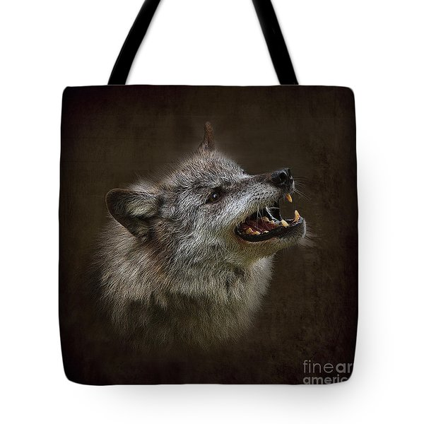 Big Bad Wolf Tote Bag by Louise Heusinkveld