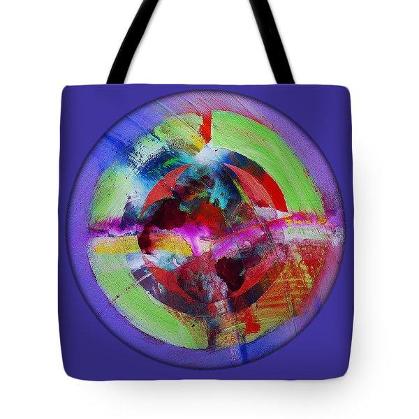 Big Bang Blue Tote Bag by Charles Stuart