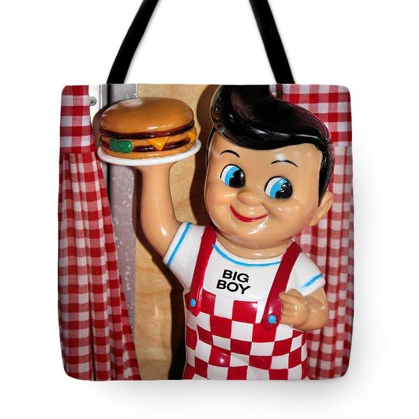 Big Boy Tote Bag by Kristin Elmquist