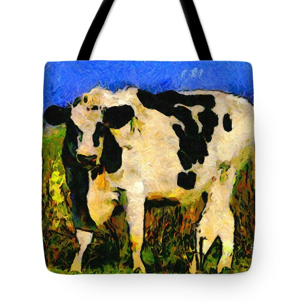 Big Bull 2 . 7D12437 Tote Bag by Wingsdomain Art and Photography