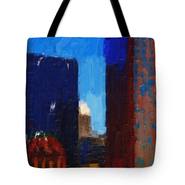 Big City Tote Bag by Wingsdomain Art and Photography