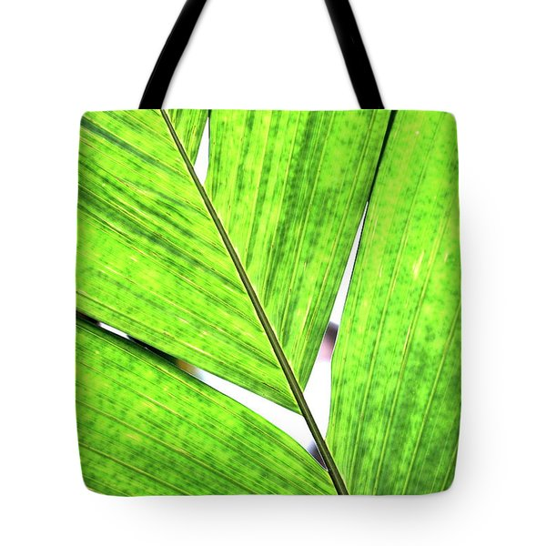 Big Green Leaf . 7D5763 Tote Bag by Wingsdomain Art and Photography