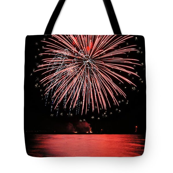 Big Red Tote Bag by Bill Pevlor