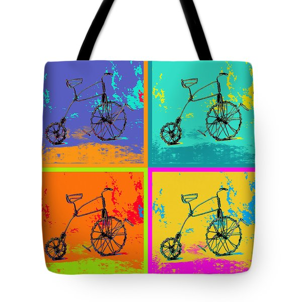Bike 1b Tote Bag by Mauro Celotti