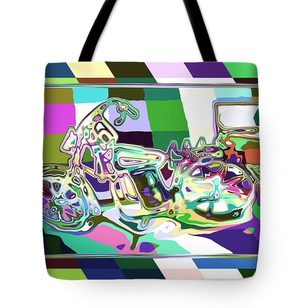 Bike-2b Tote Bag by Mauro Celotti