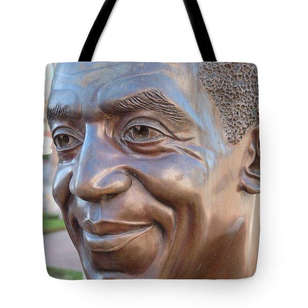 Bill Cosby Bust I Tote Bag by Jeff Lowe