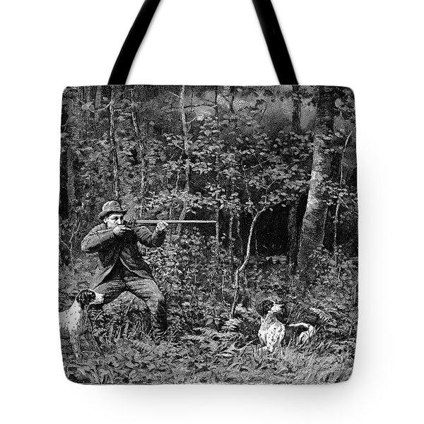 Bird Shooting, 1886 Tote Bag by Granger