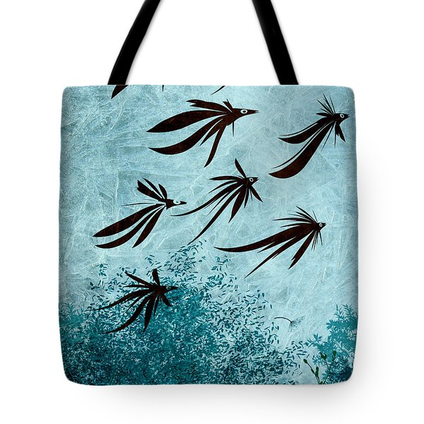 Birdeeze -v03 Tote Bag by Variance Collections