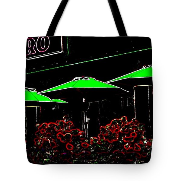 Bistro Tote Bag by Will Borden