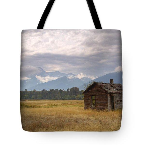 Bitterroot Homestead Tote Bag by Idaho Scenic Images Linda Lantzy