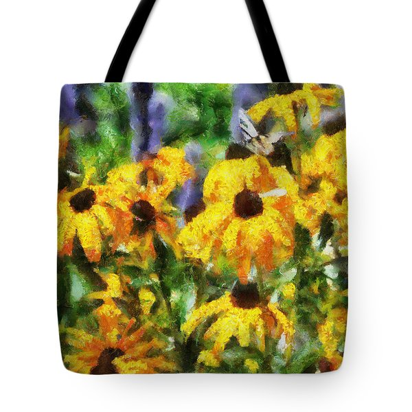 Black Eyed Susans II Tote Bag by Jai Johnson