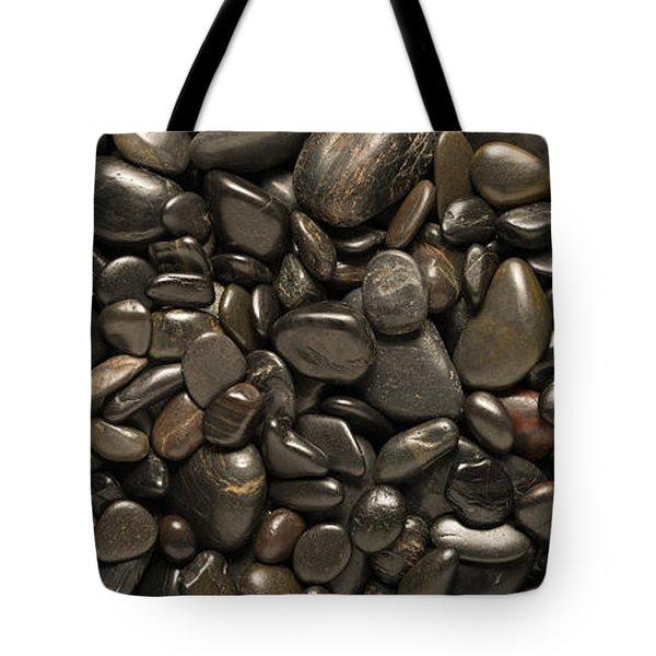 Black River Stones Landscape Tote Bag by Steve Gadomski