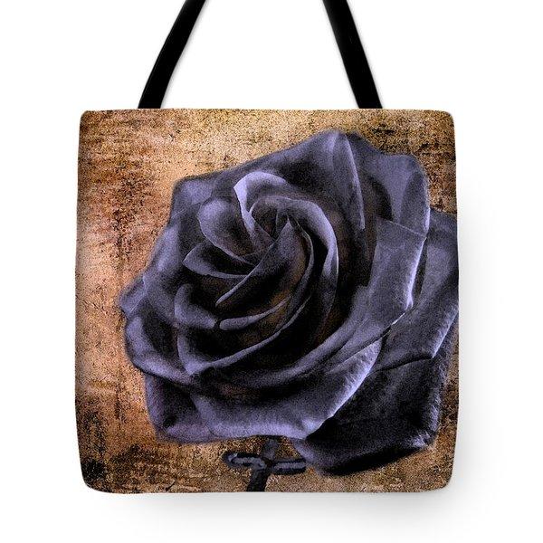 Black Rose Eternal   Tote Bag by David Dehner