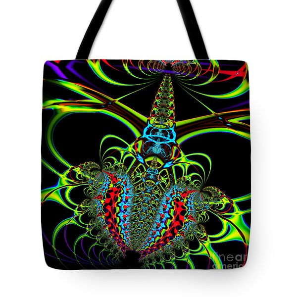 Black Widow Tote Bag by Wingsdomain Art and Photography