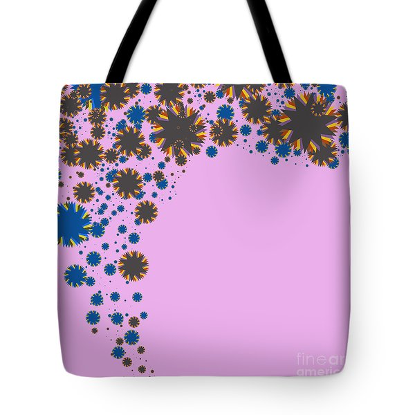 blades on purple Tote Bag by ATIKETTA SANGASAENG