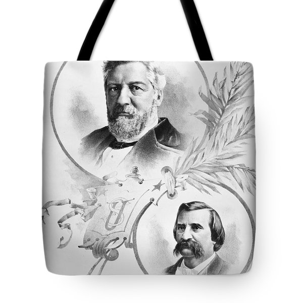 Blaine: Election Of 1884 Tote Bag by Granger