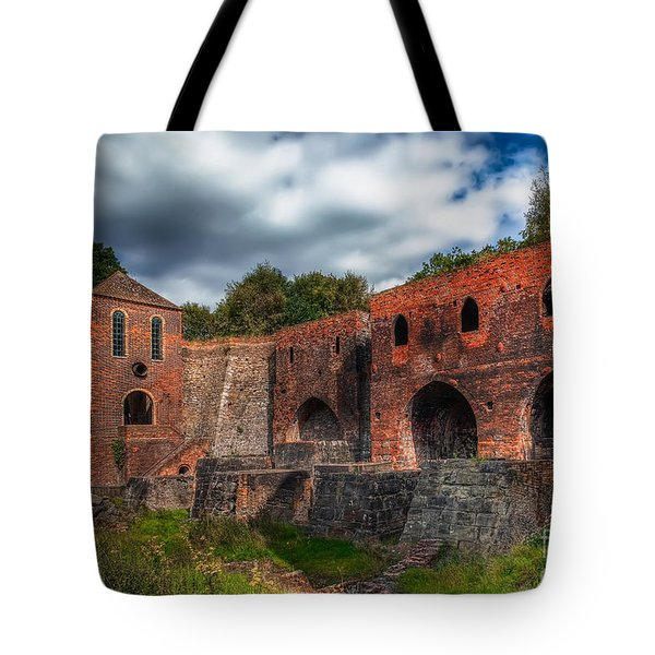 Blast Furnaces Tote Bag by Adrian Evans