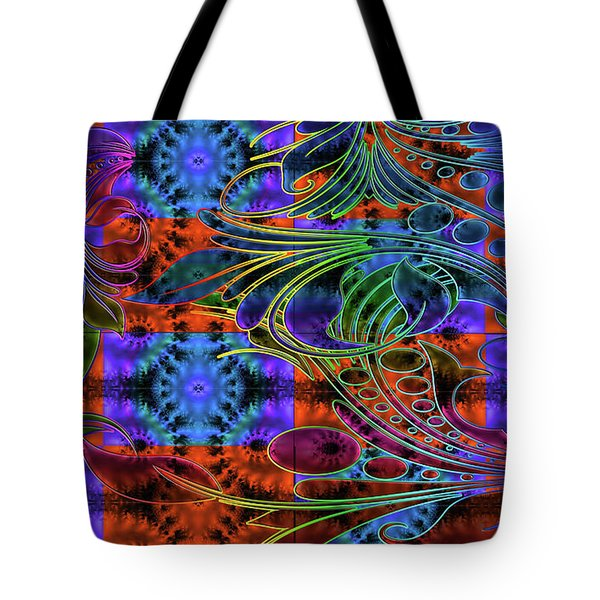 Bleeding Rainbow Tote Bag by Clayton Bruster