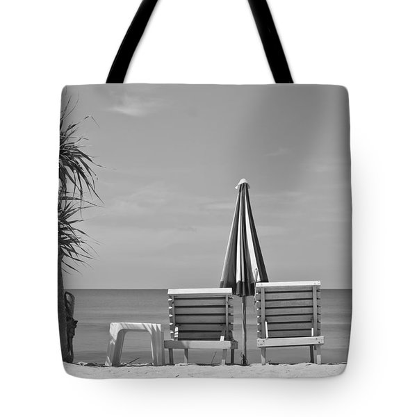 Bliss Is The Beach Tote Bag by Georgia Fowler