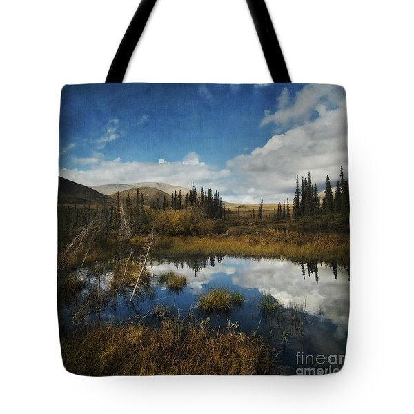 Blissful Lone Land Tote Bag by Priska Wettstein