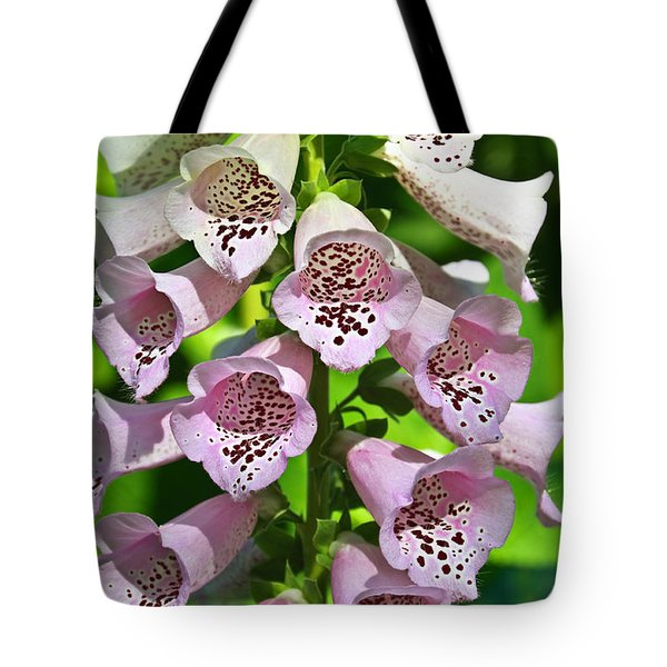 Blow The Trumpet Flora Tote Bag by Andee Design