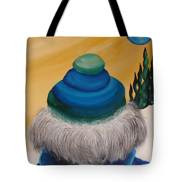 Blue Above 2 Tote Bag by Beverly Livingstone