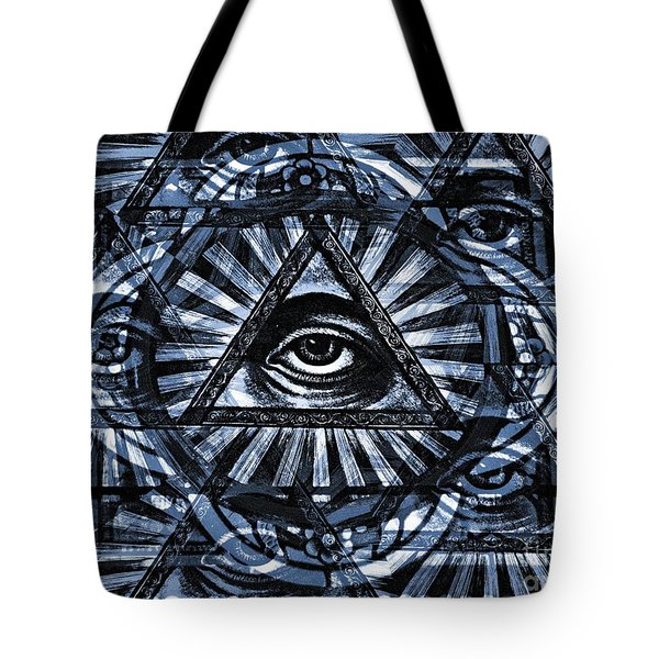 Blue Eyes Tote Bag by Chris Berry