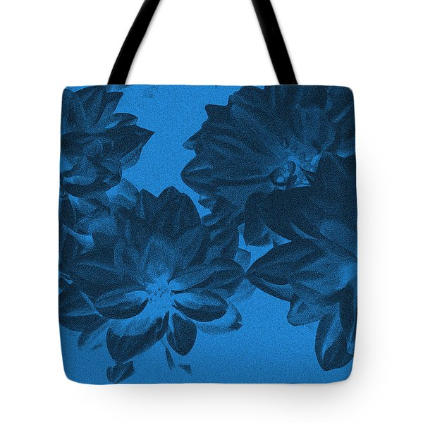 Blue Flower Art Tote Bag by Aimee L Maher Photography and Art Visit ALMGallerydotcom