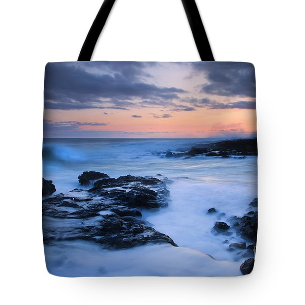 Blue Hawaii Sunset Tote Bag by Mike  Dawson