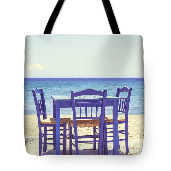Blue Tote Bag by Joana Kruse