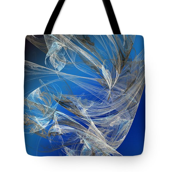 Blue Legacy Tote Bag by Andee Design