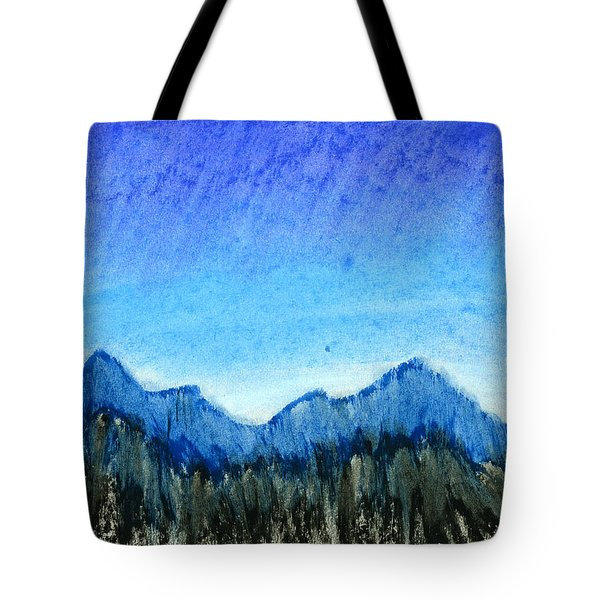 Blue Mountains Tote Bag by Hakon Soreide