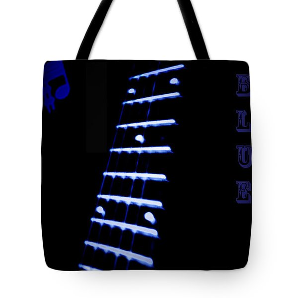 Blue Note Tote Bag by Bill Cannon