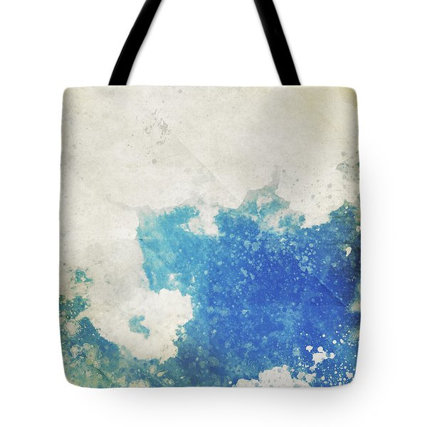 Blue Sky And Cloud On Old Grunge Paper Tote Bag by Setsiri Silapasuwanchai