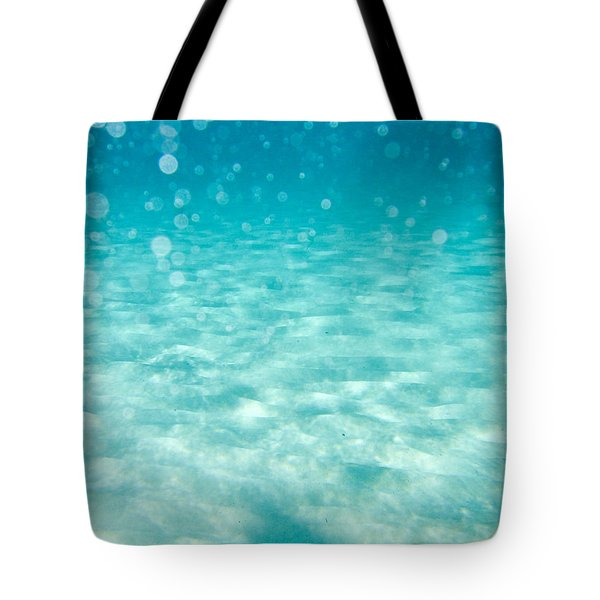 blue Tote Bag by Stylianos Kleanthous